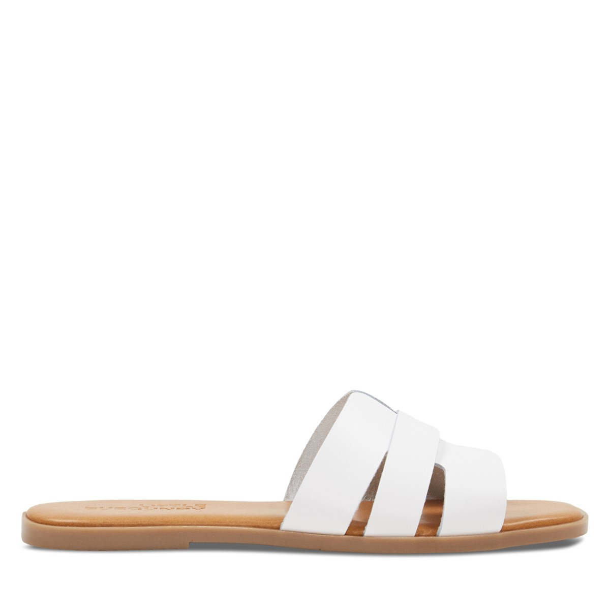 Women's Helena Slip-On Sandals in White