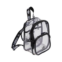 Clear Mini Backpack in Black