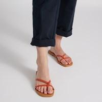 Sandales Stella orange pour femmes