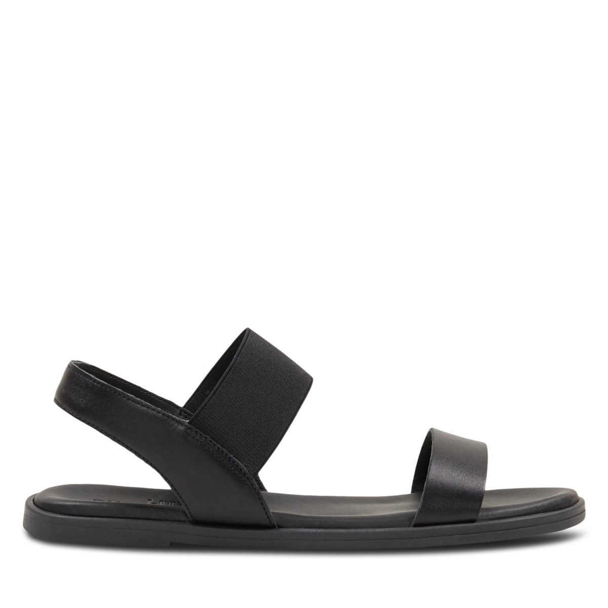 Women's Annie Strapped Sandals in Black
