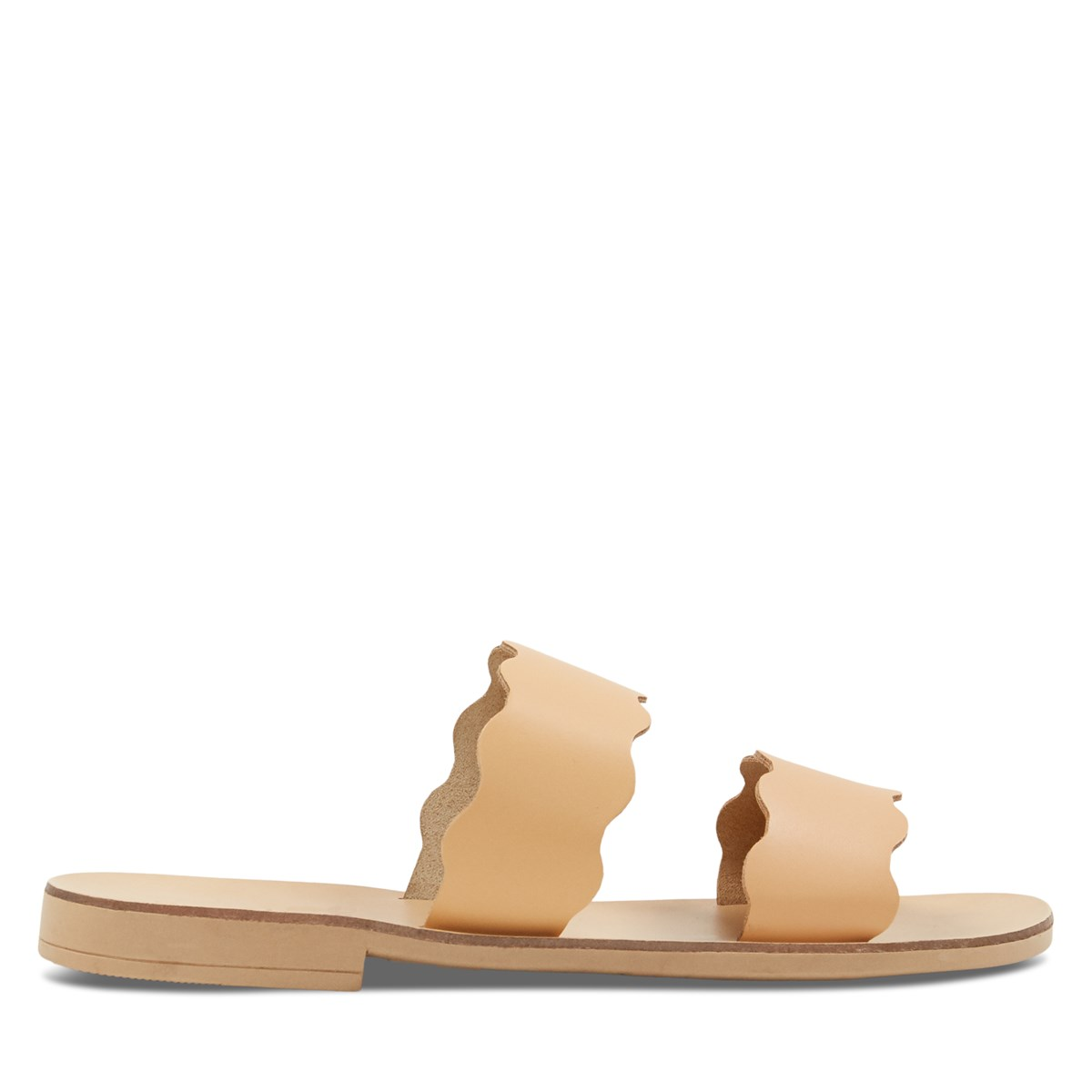 Women's Zoe Slip-On Sandals in Beige