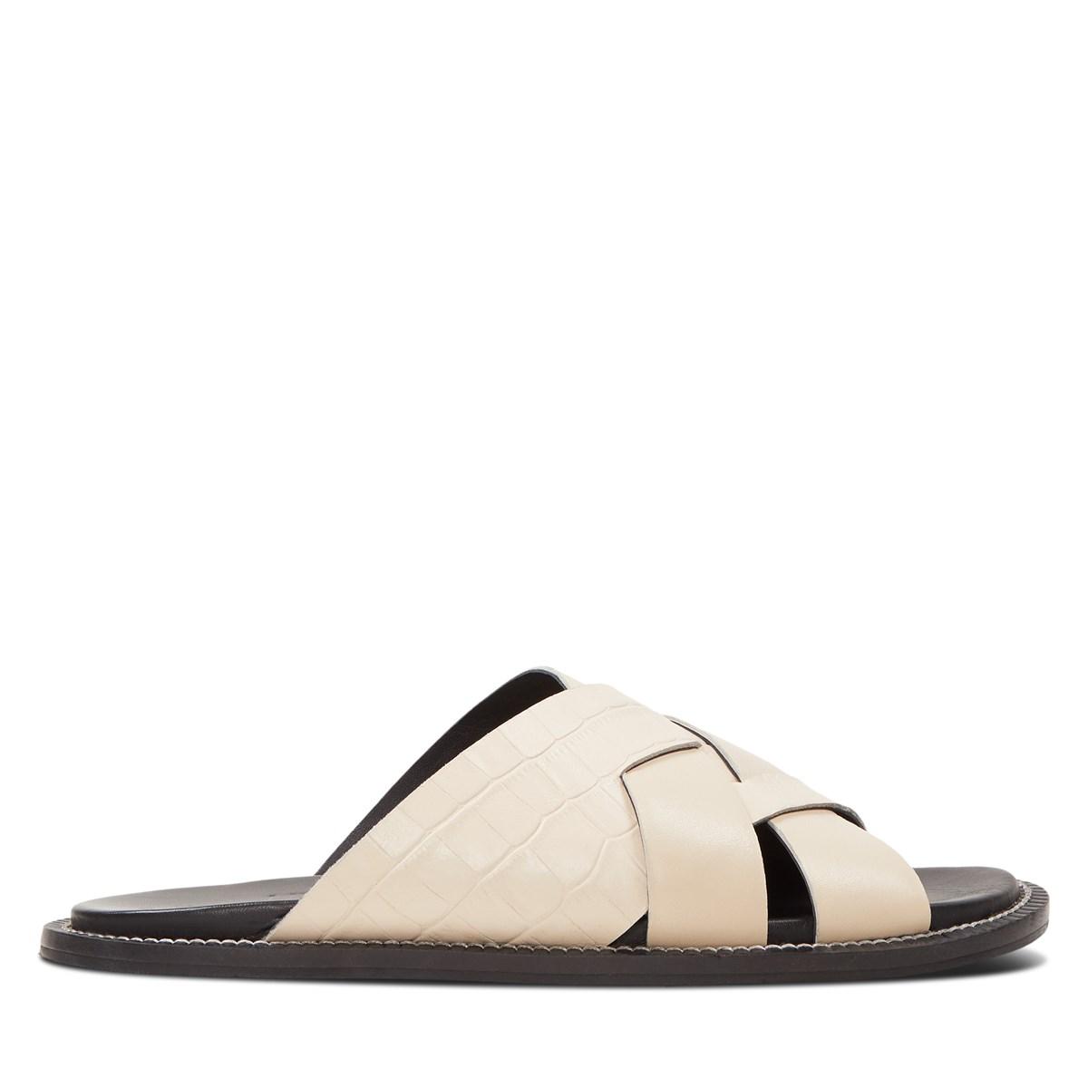 Women's Ivy Slip-On Sandals in Cream