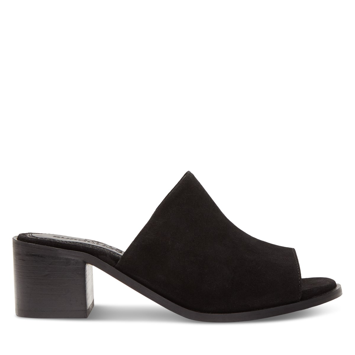 Women's Olivia Heeled Mules in Black