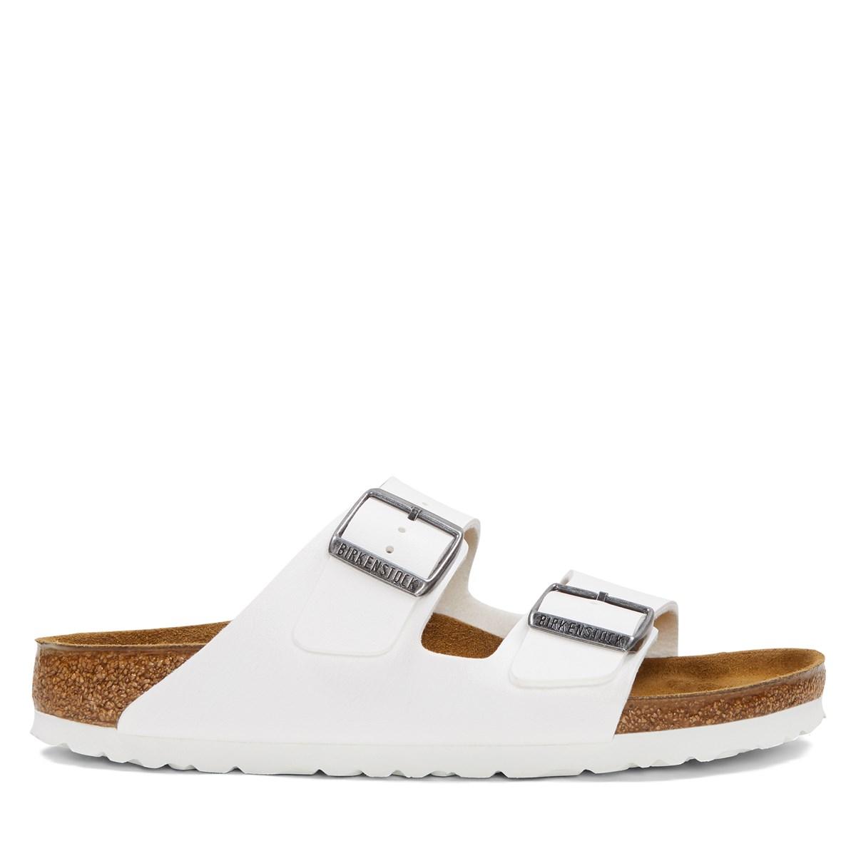 Sandales Arizona blanches pour femmes