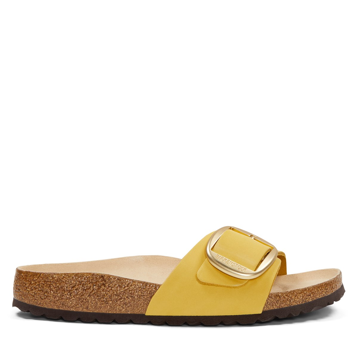 Women's Madrid Buckle Sandals in Yellow