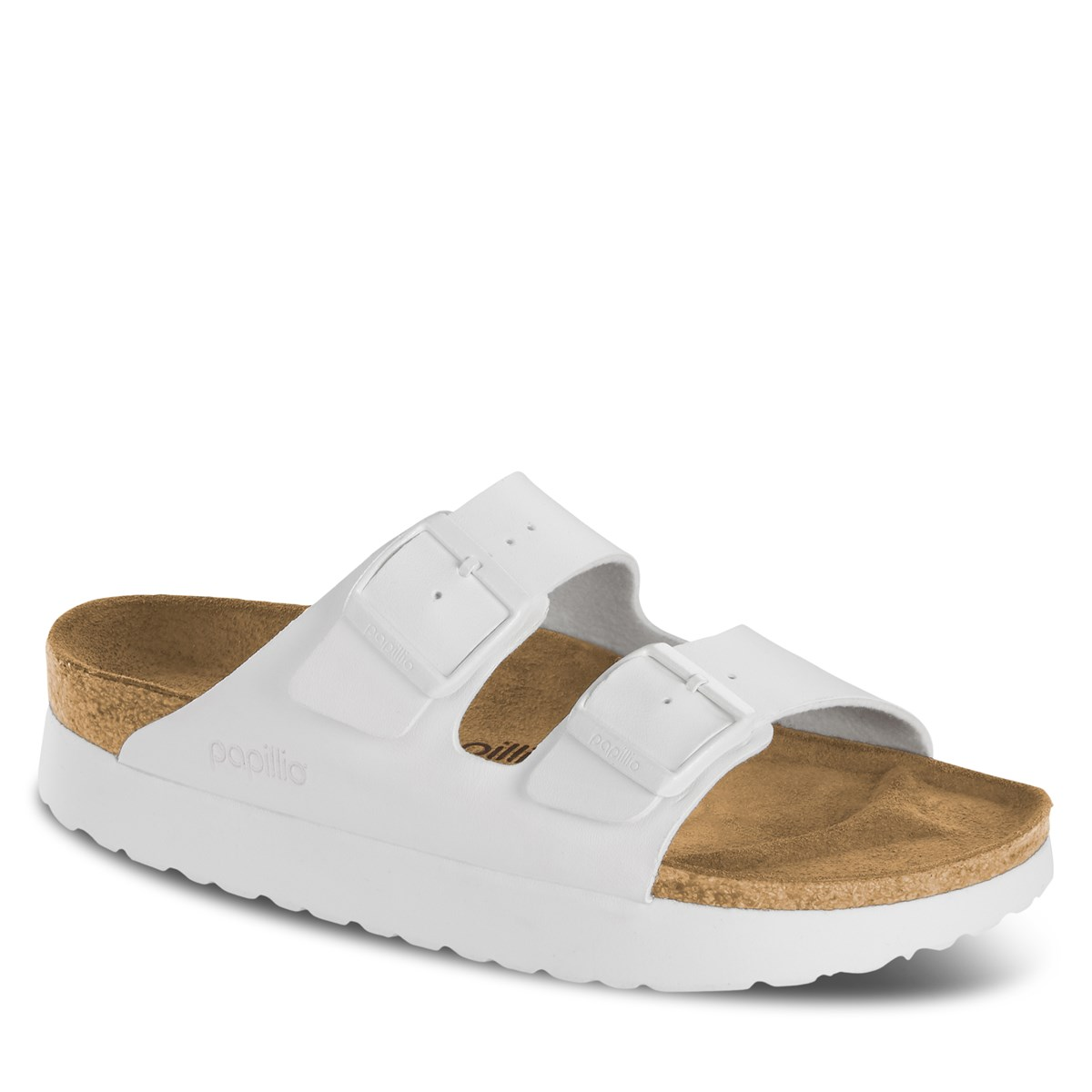 Women's Papillio Arizona Platform Sandals in White