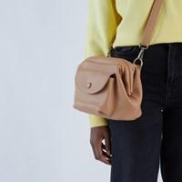 Sara Crossbody Bag in Taupe