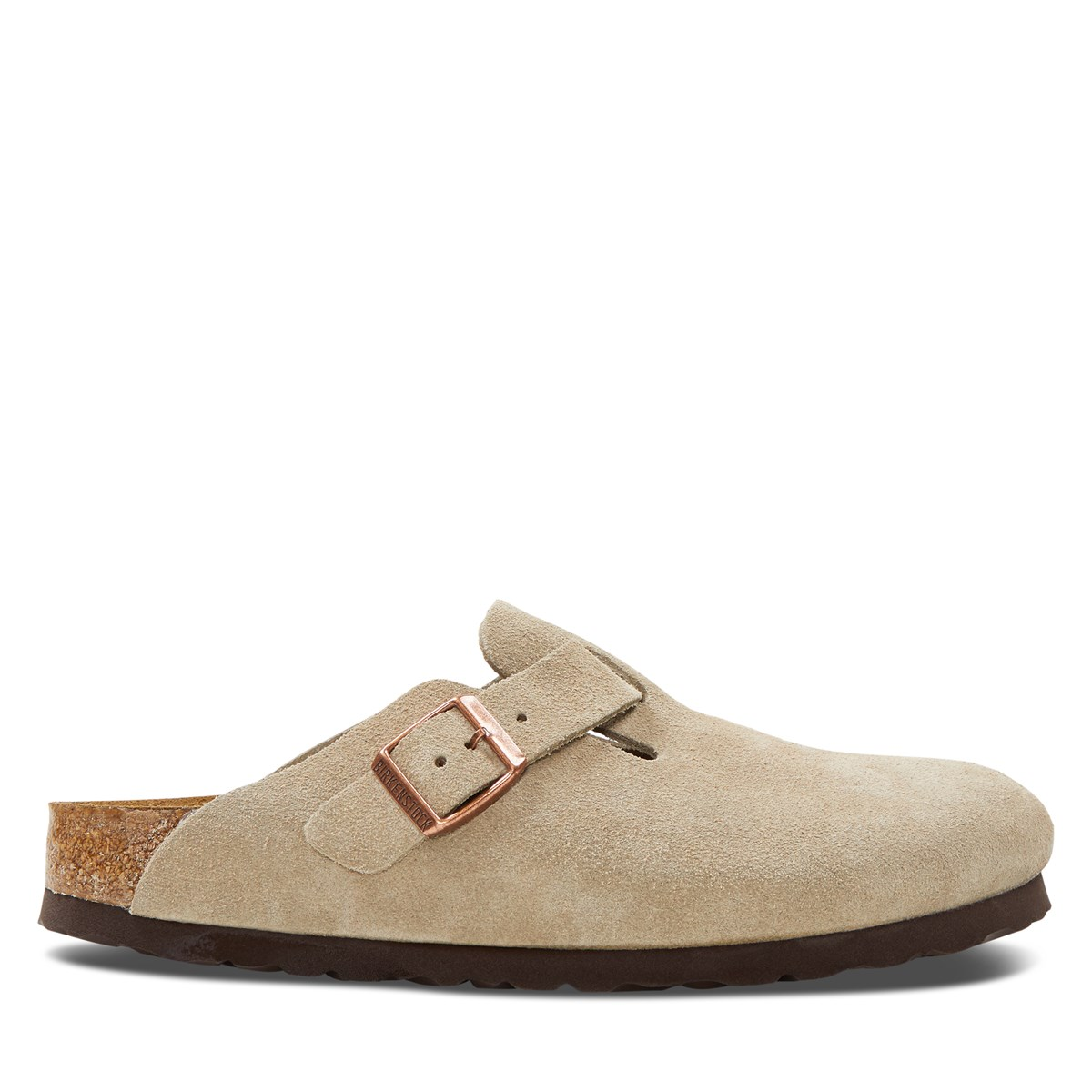 Women's Boston Clogs in Taupe
