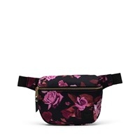 Fifteen Roses Hip Pack in Black