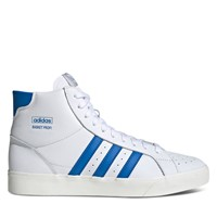 Men's Basket Profi High Top Sneakers in White