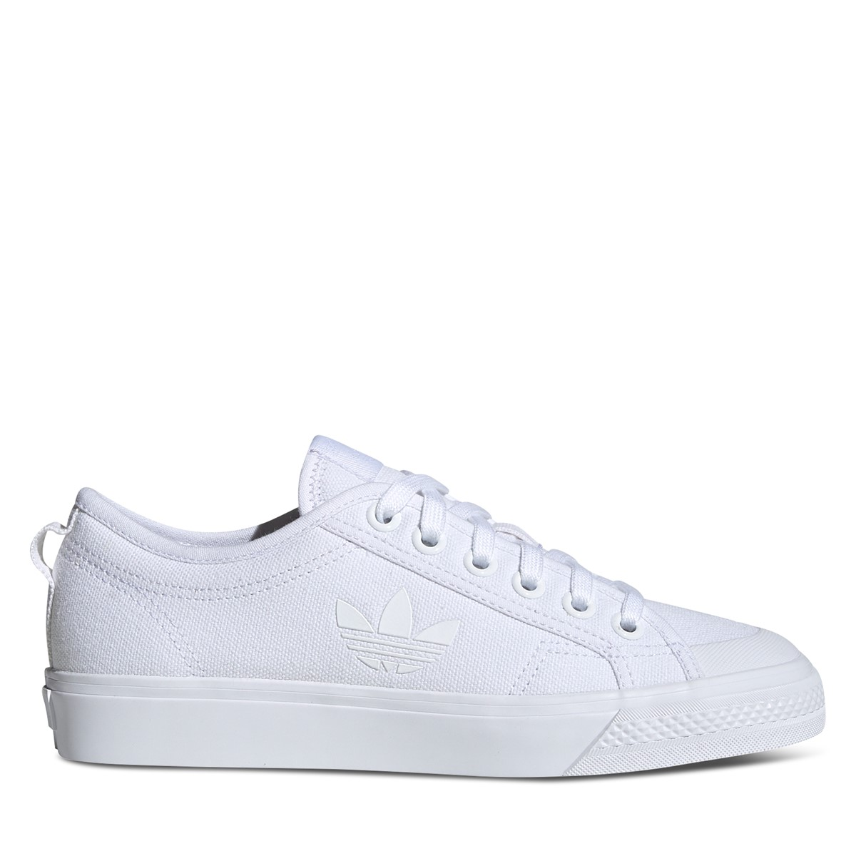 Nizza Trefoil Sneakers in White