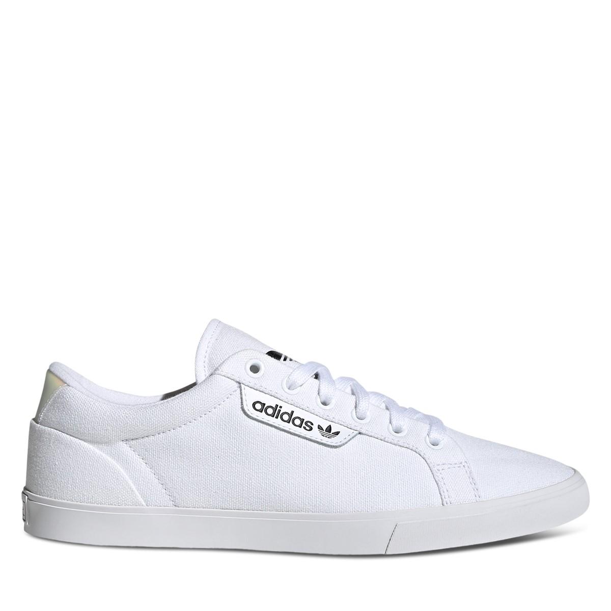 Women's Sleek Low Sneakers in White