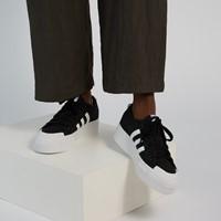 Baskets Nizza Platform noires pour femmes