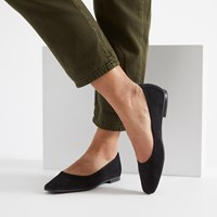 Women's Alice Flats in Black