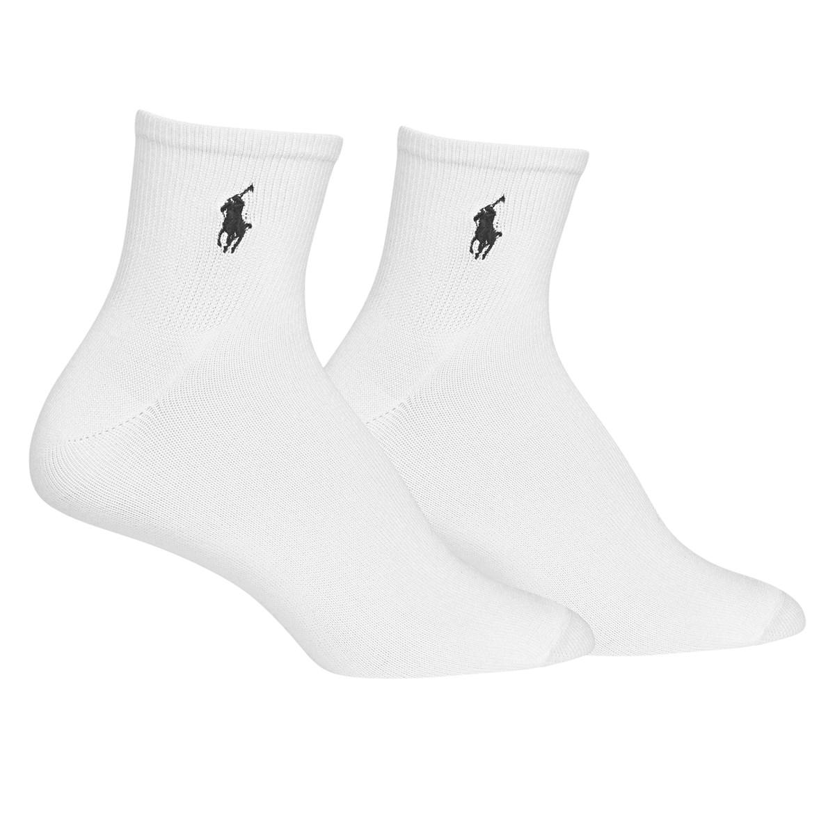 Women's Super Soft Quarter Socks in White