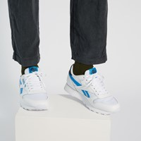 Men's Classic Leather Recycle Sneakers in White