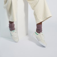 Women's Club C 85 Sneakers in Off-White/Green