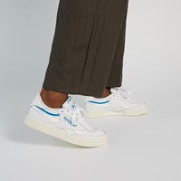 Women's Club C Vintage 85 Sneakers in White/Blue