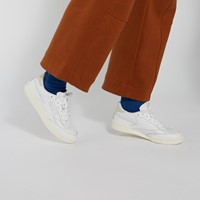 Women's Club C 85 Vintage Sneakers in White