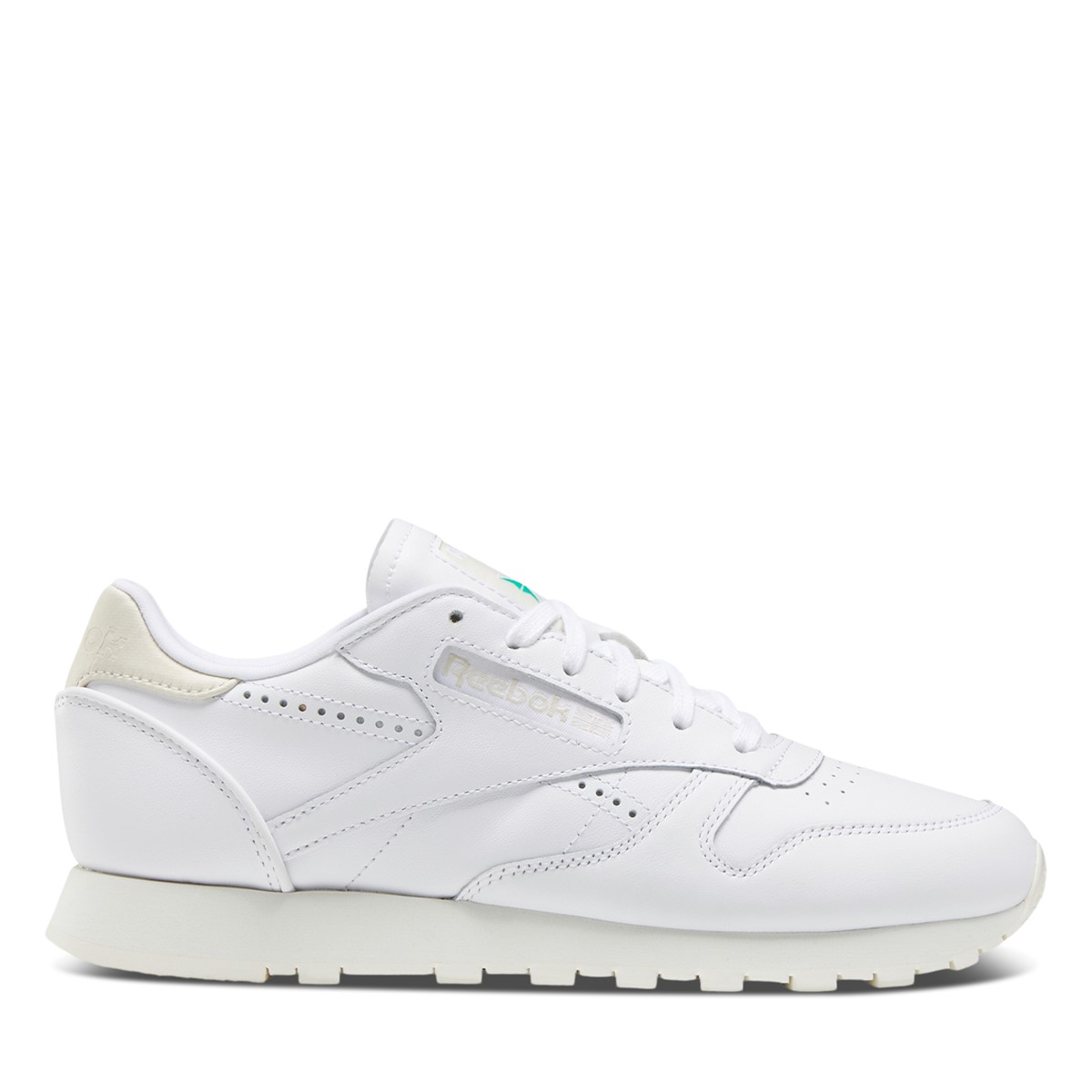 Women's Classic Leather Vintage Sneakers in White