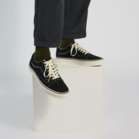 Men's Old Skool Sneakers in Black/White