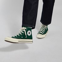 Chuck 70 Hi Sneakers in Forest Green