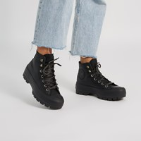 Women's Chuck Taylor All Star GORE-TEX Lugged Sneaker Boots in Black
