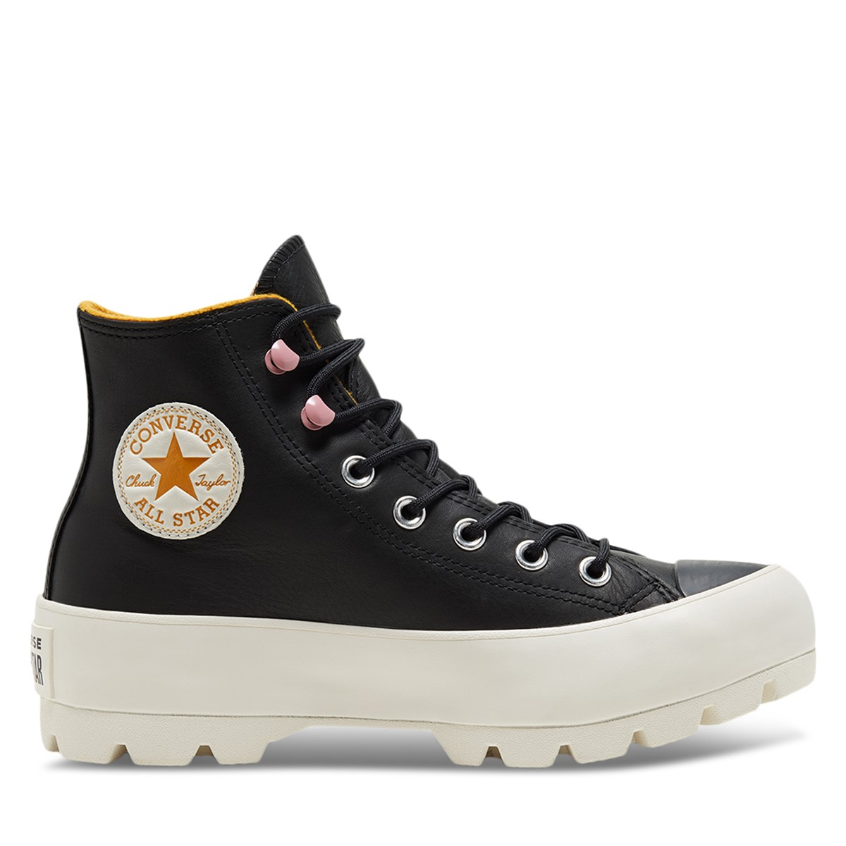 Women's Chuck Taylor Hi GORE-TEX Lugged Sneaker Boots in Black