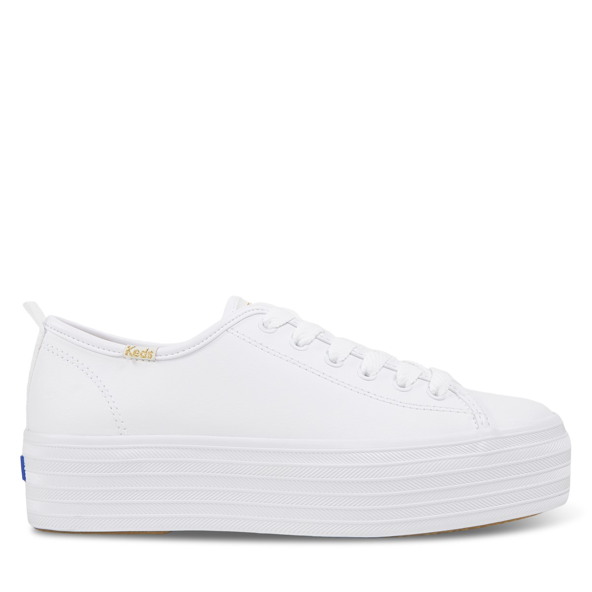 Women's Triple Up Platform Sneakers in White