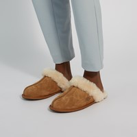 Women's Scuffette II Slippers in Beige