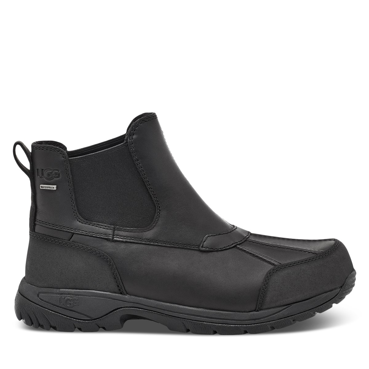 Men's Butte Chelsea Boots in Black