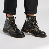 1460 BASQUIAT Boots in Black