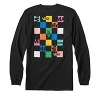 Vans X MoMA Branded Long Sleeve Shirt in Black