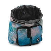 Vans X MoMA Claude Monet Backpack in Blue