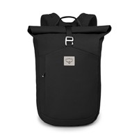Arcane Roll Top Backpack in Dark Grey