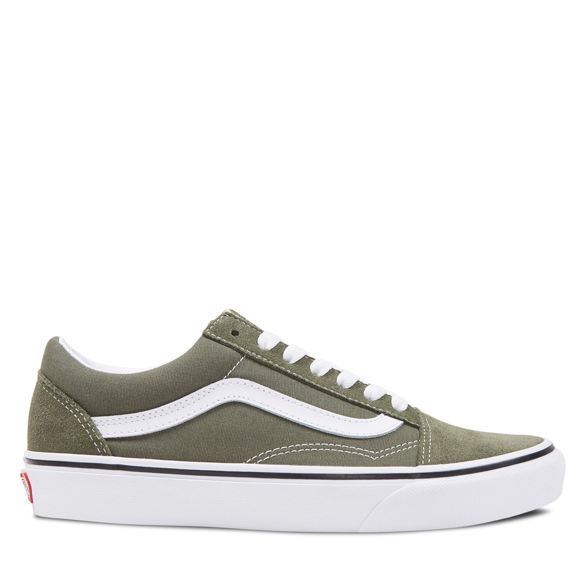 Women's Old Skool Sneakers in Forest green