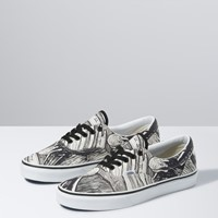 Vans X MoMA Edvard Munch Era Sneakers in Black