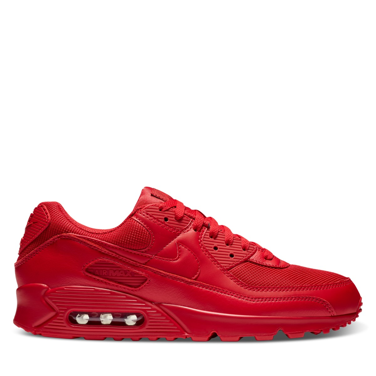 Men's Air Max 90 Sneakers in Red