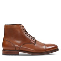 Men's Vincent Lace-Up Boots in Cognac