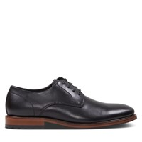 Chaussures Leo noires pour hommes