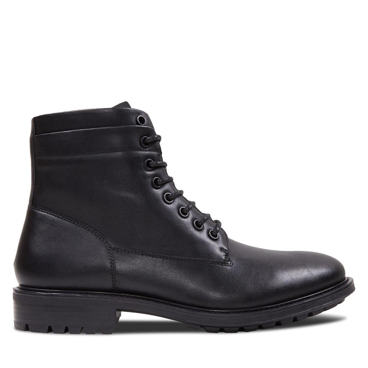 Men's Alex Lace-Up Boots in Black