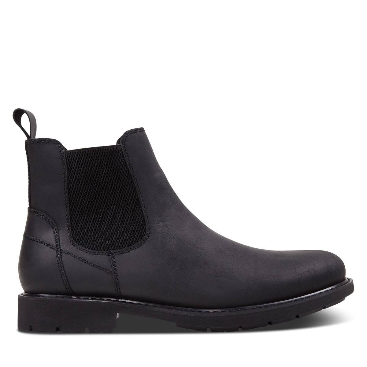 Men's Levi Chelsea Boots in Black