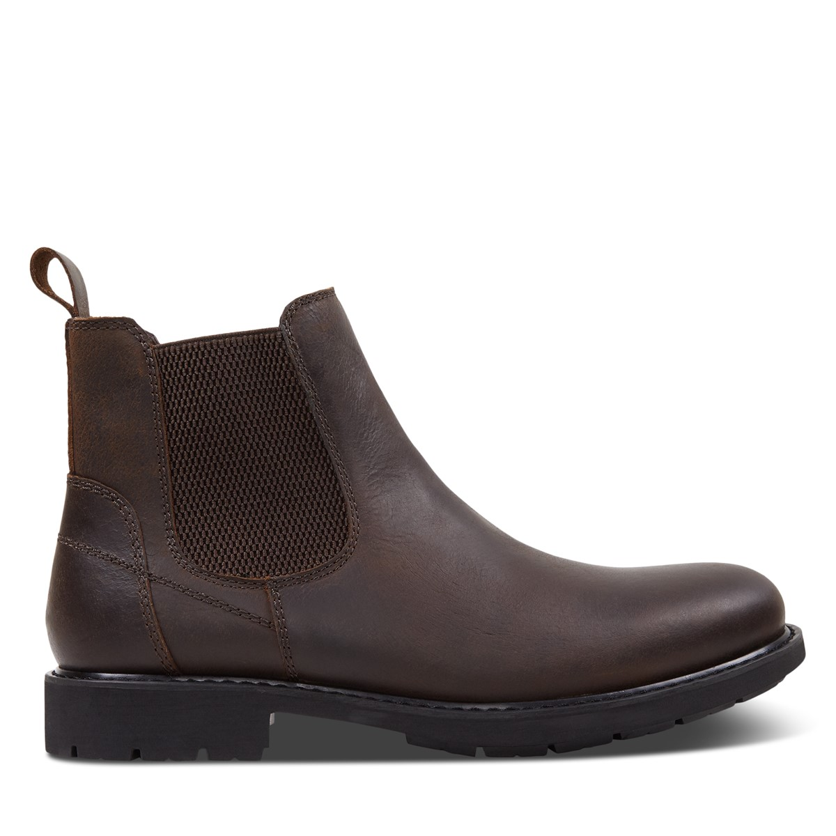 Men's Levi Chelsea Boots in Brown