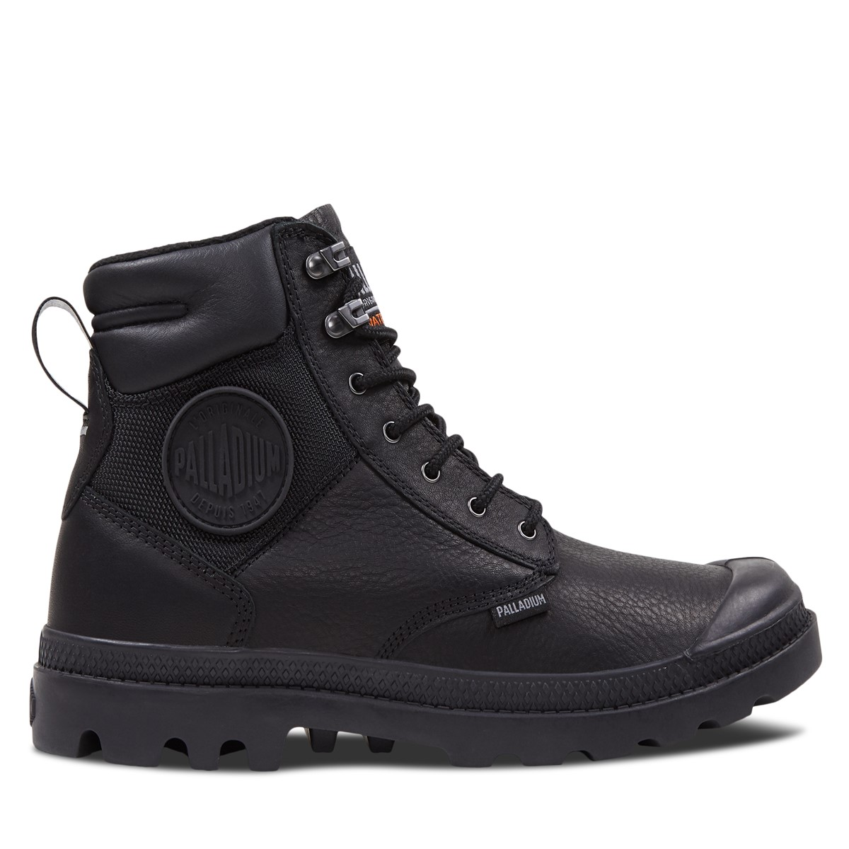 Men's Pampa Shield Boots in Black
