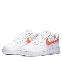Women's Air Force 1 '07 Sneakers in White/Orange