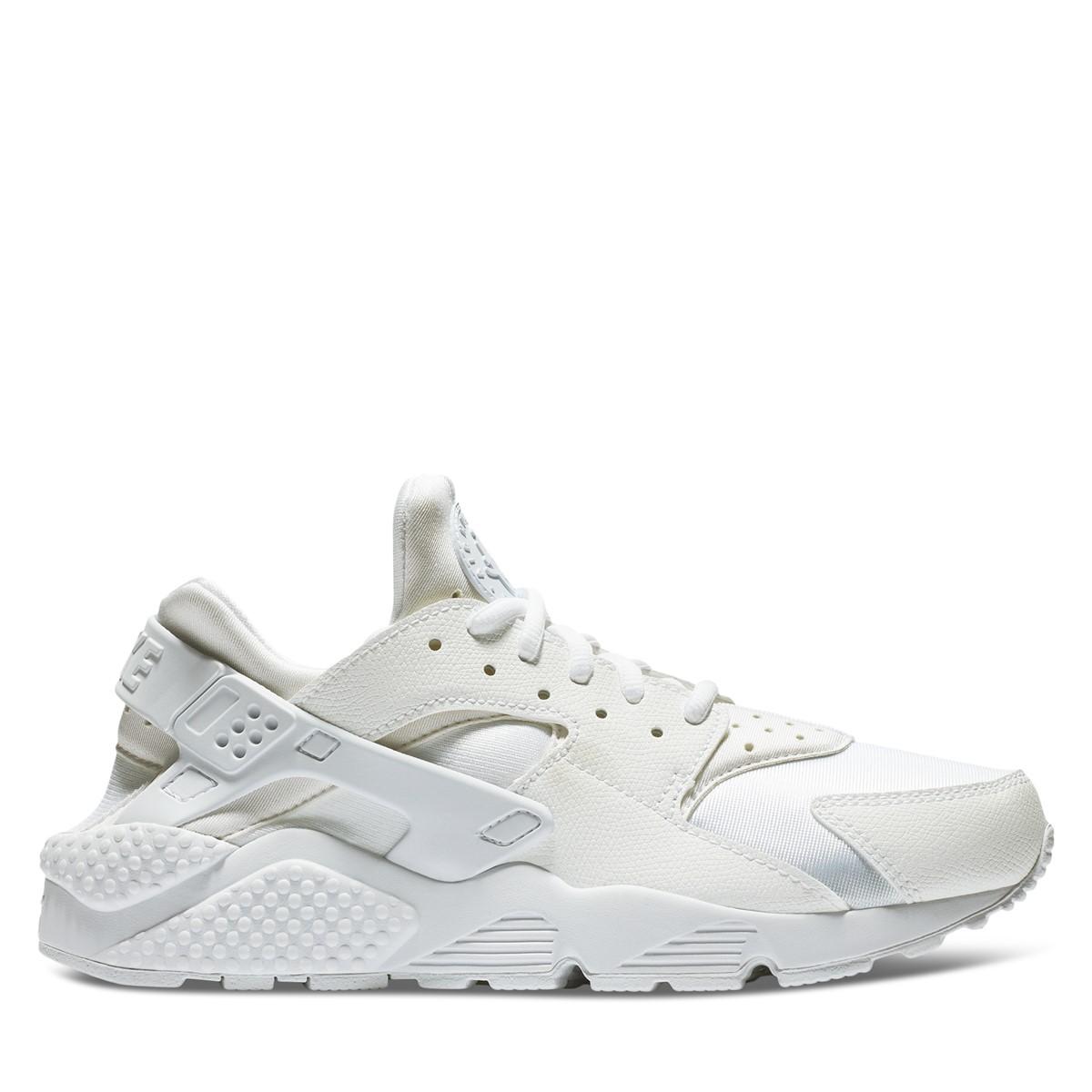 Women's Huarache Run Sneakers in White