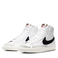 Baskets Blazer Mid '77 High Top blanches pour femmes