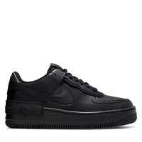Women's Air Force 1 Shadow Sneakers in Black