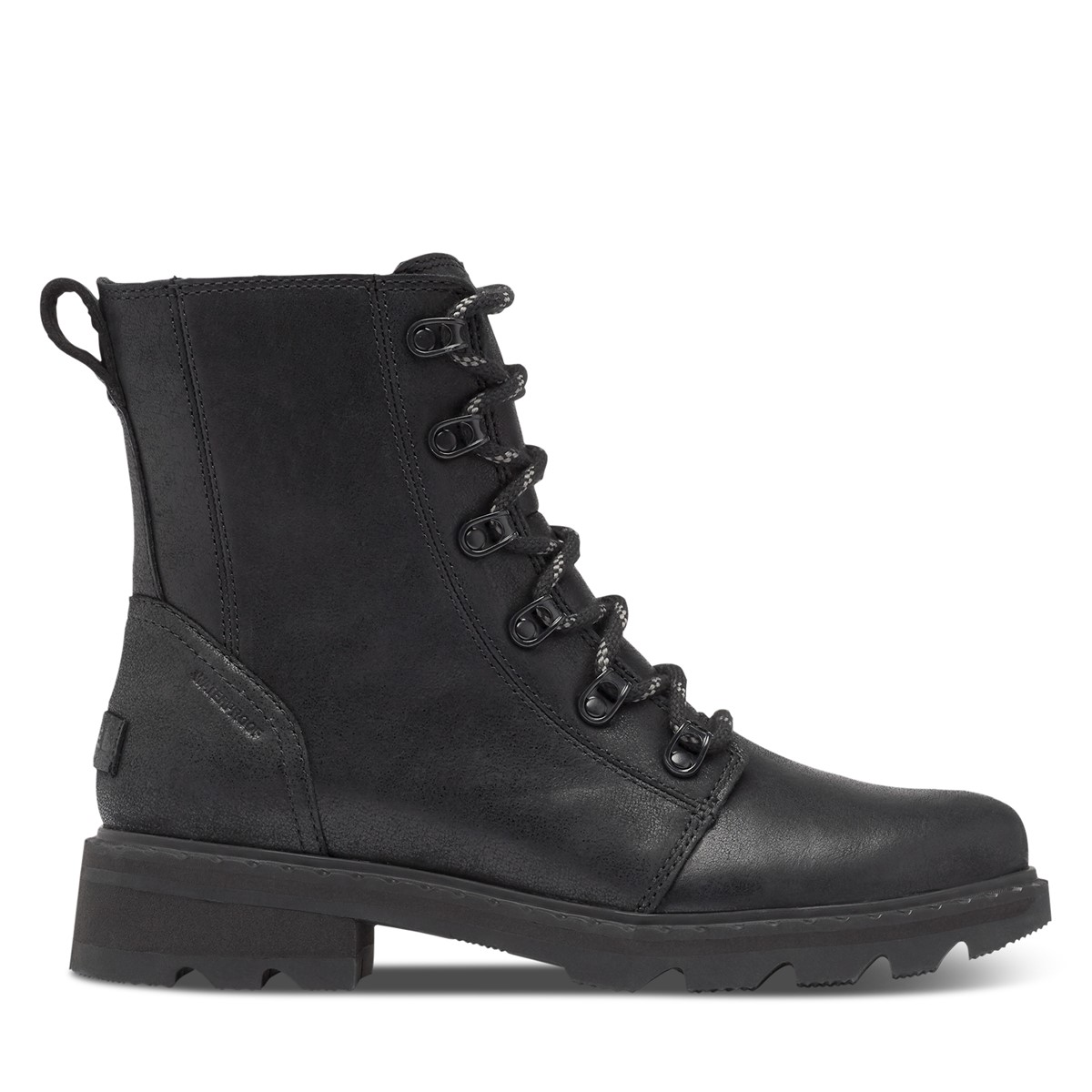 Women's Lennox Lace Boots in Black