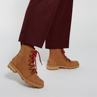Women's Lennox Lace Boots in Velvet Tan